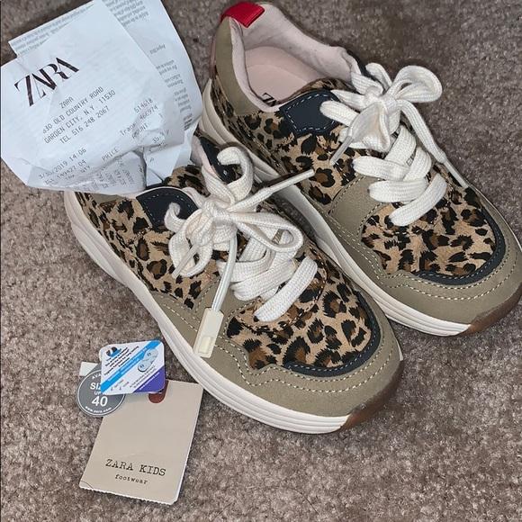 Zara Shoes   New Zara Girls Sneaker New